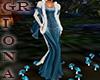 GR 2 Medival Blue Gown