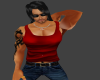 (BL) Red muscle tank