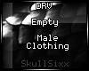 s|s Empty Male Clth.