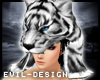 #Evil White Tiger Helm