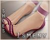 [Is] Plum Heels