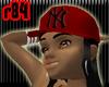 [r84] Red NY Cap2 BlkH
