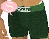 S. WO shorts hers green