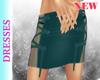Fury Teal Skirt