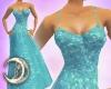 Iridescent Aqua Gown