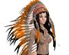 Indian Head dress / hair