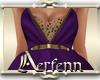 A: Starlight Purple Gown