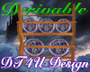 Derivable plate display