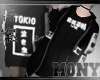 Vest & Shirt / Black 01