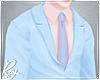 Sky Blue Pastel Suit