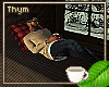 Cabin Lounge Pllw Pose 3