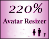 Avatar Resize Scaler 220