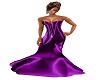 Purple Silk Gown