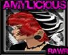 Red Hair/Skull Beanie V2