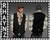 TheCowboy Vest/Shrt *Blk