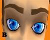 [B] brown h-lights brows