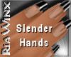 Wx:Slender Black Tipped