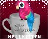 ♥ Hellkitten Parrot