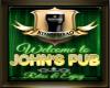 John's Pub Sign