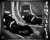 Ice Skates Blk/white F