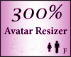Avatar Resize Scaler 300