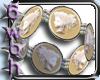 [6] Cameo pearl bracelet