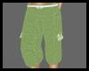 (DP)Green Baggy Cargos