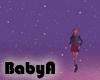 ~BA Snowy Ambient Purple