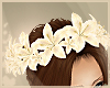 Natural Peace Lily Crown