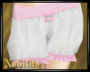 Bloomers with Pink Frill