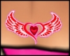 Love Kiss in Heart Wings
