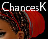 African Red Headtie