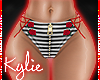 RLS Striped Cutie Shorts