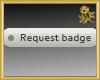 Request Badge Sticker