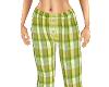 TF* Green Pajama pants