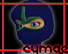 Blue/Green Ninja Mask