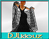 DJL-Shawl Black Lace