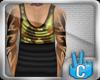[LF] Half Logn Vest Camo