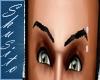 """Real Eyebrows"" .Black."