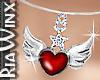Wings Of Love Necklce