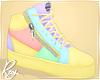 Pastel Colors Zips