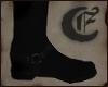 The Dark Cowboy's Boots