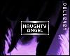 Naughty Angel Badge