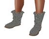 Cute Striped boots