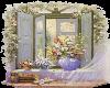 Flower in Window-3
