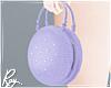 Purple Macaron Bag