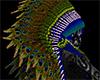A Peacock Headdress