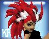 Featherd Devals Hair