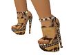 African Print Heels