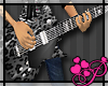*P* Black Leopard Guitar